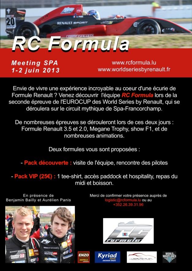 RCFormula invitation